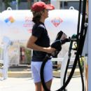 Selma Blair at a gas station in Studio City - 454 x 681