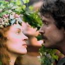 Uma Thurman and Patrick Bergin