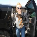 Miley Cyrus: arriving at LAX Airport in Los Angeles
