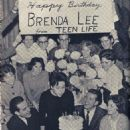 Brenda Lee's 17th birthday, 1961