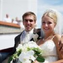 Claudia and Philipp Lahm wedding photo - 454 x 300