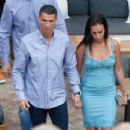 Georgina Rodriguez and Cristiano Ronaldo out in Malaga - 454 x 347