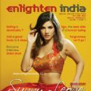 Sunny Leone - Enlighten India Magazine Cover [India] (June 2013)