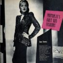 Gene Tierney - Photoplay Magazine Pictorial [United States] (November 1944) - 454 x 630