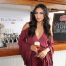 Actress Shay Mitchell toasted bon voyage to a summer of hosting beautifully with Stella Artois while sailing into the New York City sunset on September 21, 2015 - 454 x 302