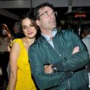Jon Hamm and Jenny Slate