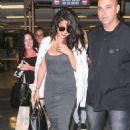 Selena Gomez At Lax Airport In La