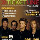 Richie Sambora, Jon Bon Jovi, David Bryan, Tico Torres - Ticketline Magazine Cover [Portugal] (May 2013)
