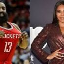James Harden and Brittany Renner