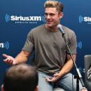 Zac Efron at SiriusXM's 'Town Hall' with the cast of 'Neighbors 2' at SiriusXM Studios on May 18, 2016 in New York, New York