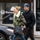 Sienna Miller and ex Tom Sturridge – Walk dog in New York