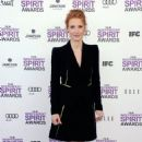 Jessica Chastain's Day At The 2012 Spirit Awards