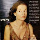 Isabelle Huppert Elle Magazine Pictorial October 2000 - 454 x 528