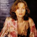 French Elle (October 2000) - Isabelle Huppert editorial - 454 x 619