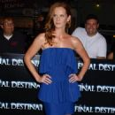 Rebecca Mader - Premiere Of 'The Final Destination' At The Mann Village Theatre On August 27, 2009 In Westwood, Los Angeles, California