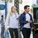 Sophie Turner and Joe Jonas – Leaving their hotel in Beverly Hills