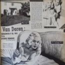 Mamie Van Doren - Cine Revue Magazine Pictorial [France] (15 March 1957) - 454 x 591