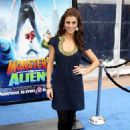 Samantha Harris - The Los Angeles Premiere Of 'Monsters Vs. Aliens' Held - The Universal Studios Gibson Amphitheatre 2009-03-22