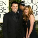 Matt LeBlanc and Jennifer Aniston At The 61st Annual Golden Globe Awards (2004) - 454 x 563