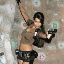 as Lara Croft the Tomb Raider