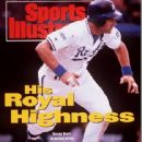 George Brett - Sports Illustrated Magazine Cover [United States] (5 October 1992)