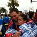 Shay and Colette - After San Francisco Marathon - 454 x 607