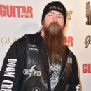 "Musician Zakk Wylde arrives at ""An Evening With Jimmy Page And Chris Cornell In Conversation"" at the Ace Hotel on November 12, 2014 in Los Angeles, California"