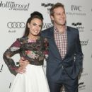 Armie Hammer and Elizabeth Chambers - 447 x 594