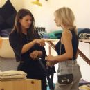 Sofia Richie and Lottie Moss – Shopping at Elder Statesman in West Hollywood