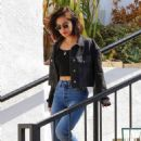 Lucy Hale – Heads to pet shop in Los Angeles