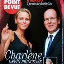 Princess Charlene of Monaco - Point de Vue Magazine Cover [France] (29 June 2011)