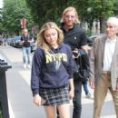 Chloe Moretz out and about in Paris
