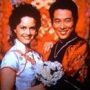 Carla Gugino and Jet Li