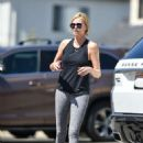Charlize Theron – Leaving a dance class in Los Angeles
