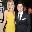 Zach Braff and Taylor Bagley - 300 x 400