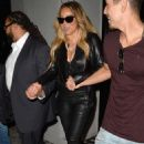 Mariah Carey – Arrives at Jay-Z and Beyonce's On the Run II Tour in Pasadena