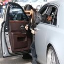 Kim Kardashian spotted out for lunch at Cafe Vega in Sherman Oaks, California on February 8, 2017 - 454 x 550