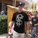 Vanilla Ice seen hosting the 'Go' Pool Party at the Flamingo Casino and Hotel in Las Vegas - 368 x 594