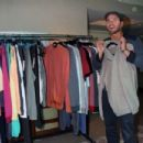 Kellan Lutz promotes his fall preview clothing line, Abbot + Main, during Magic Marketplace Fall Show 2013 in Las Vegas
