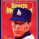 Orel Hershiser - Sports Illustrated Magazine Cover [United States] (19 December 1988)