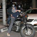 Ashton Kutcher and Mila Kunis: dinner at Taste in West Hollywood