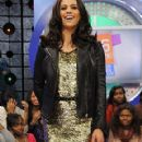 Paula Patton Visits 106 & Park in NYC