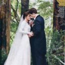 Kristen Stewart as Bella Swan in a Carolina Herrera Wedding Gown