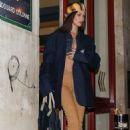 Bella Hadid – Leaves Jean-Paul Gaultier Show in Paris