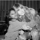 Donyale Luna and Brian Jones  during the filming of the Rolling Stones Rock & Roll Circus, December 1968 - 454 x 439