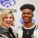 Olivia Holt – WonderCon 2018 'Cloak & Dagger' in Hollywood