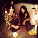 Noel Fielding and Alison Mosshart