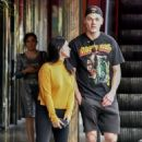 Ariel Winter and Levi Meaden – Out for lunch in Studio City