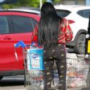 Katie Price – Shopping with Dreamboys star Al Warrell in Surrey - 454 x 591