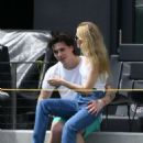 Nicola Peltz and Brooklyn Beckham – Out in Fort Lauderdale - 454 x 650